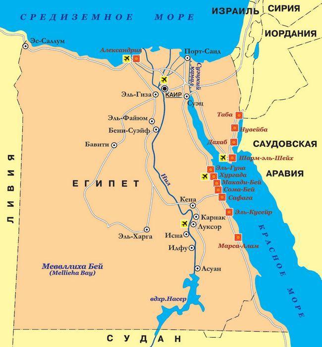 Аеропорти Єгипту