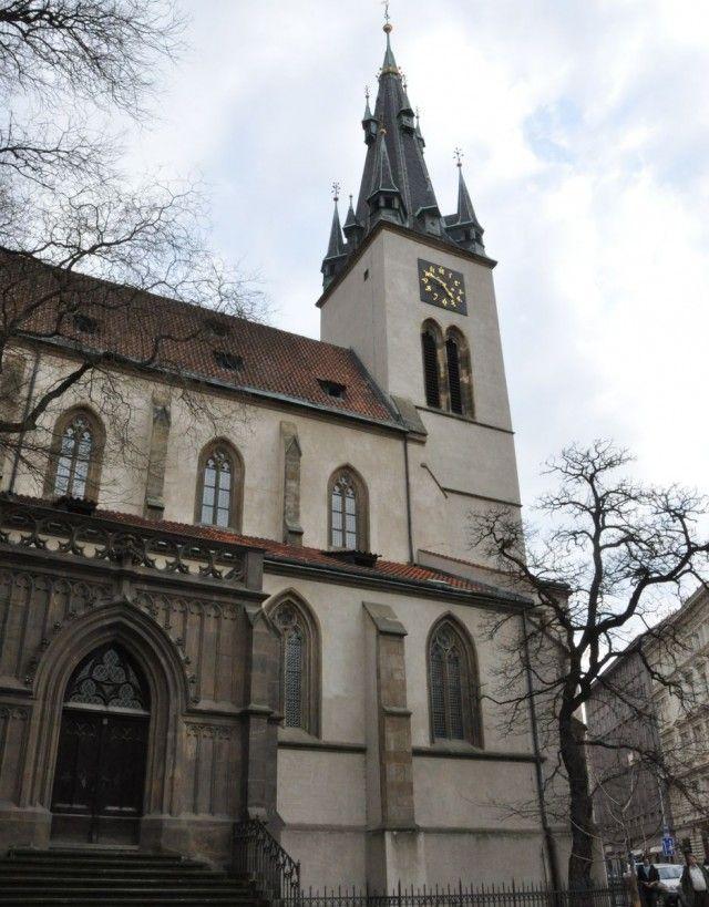 Костел Святого Штепан (Kostel svat ho t p na)