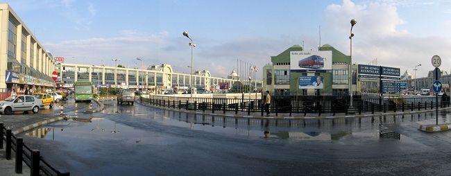 Автовокзали стамбулі, туреччина. Адреса і телефон. Автовокзали бешикташ (отогар, бешикташ) і харем на мапі стамбула. »Карта мандрівника