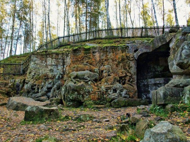 Браунов бетлем - природний парк-галерея - вершина мистецтва бароко в чехії
