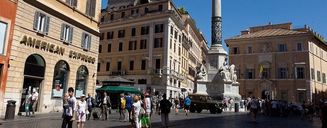 Ціни в Римі, Італія