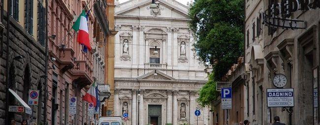 Церква санта сусанна в римі, італія. Santa susanna alle terme di diocleziano на фото. Відгуки туристів. »Карта мандрівника