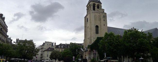 Церква сен-жермен-де-пре в парижі, франція. Собор saint germain des pres на фото. »Карта мандрівника