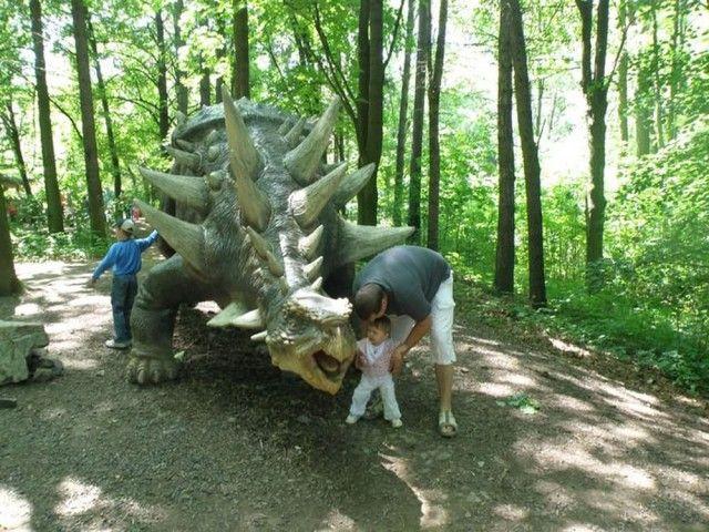 Динопарк у Вишкові (Dinopark Vy kov)