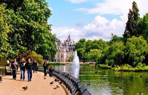 Лондон, парк Сент-Джеймс