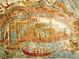 Древній порт виявлений в егейському морі