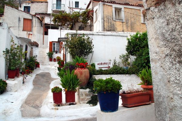 Приголомшливої краси квартал Анафіотика