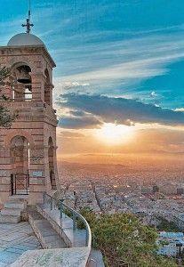 Гора ліковітос в афінах