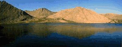 Приполярний Урал. Вершина гори Народної і Блакитне озеро