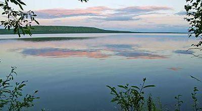 Захід на озері Балбанти (Східне). Автор: yu.orlov