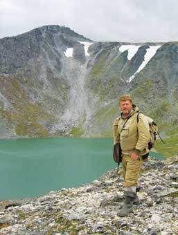Озеро Грубепендіти. Приполярний Урал