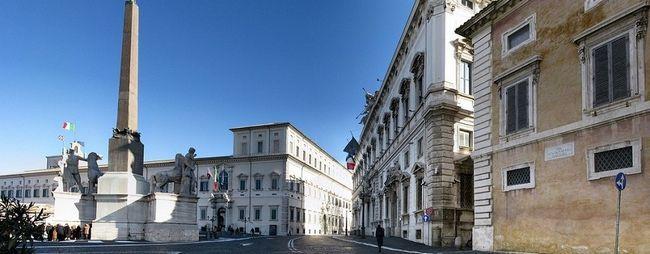Холм квіринал і його визначні пам`ятки в римі, італія. Квіринальський пагорб на мапі рима. »Карта мандрівника