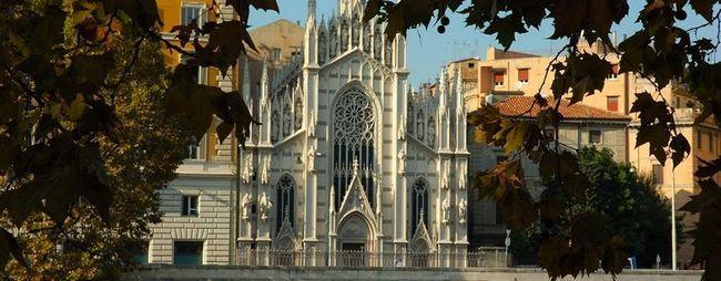 Храм святого серця ісуса і музей чистилища душі в римі, італія. Церква пресвятого серця господня на фото. »Карта мандрівника
