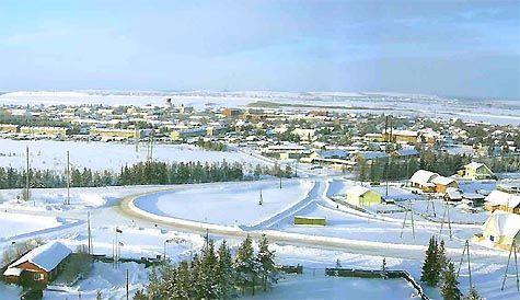 Іжма. зима
