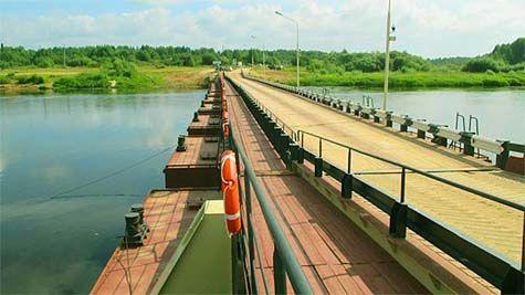 Селище Яснег новий міст