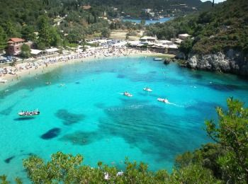 Осінній пляж, Греція