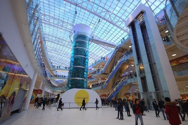 Кращі торгові центри москви