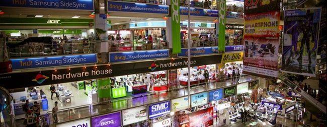 Магазини в паттайя, тайланд: на карті, відгуки, фото. Магазини електроніки, меблеві, ювелірні, магазини косметики. »Карта мандрівника