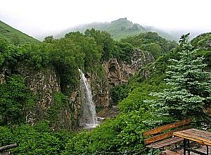 Медові водоспади в карачаєво-черкесії