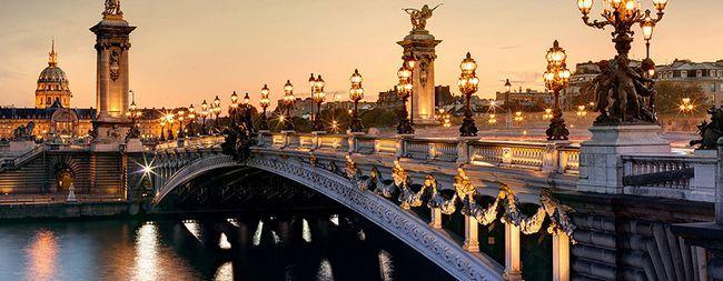 Міст олександра 3 в парижі, франція. Олександрівський міст - фото. »Карта мандрівника