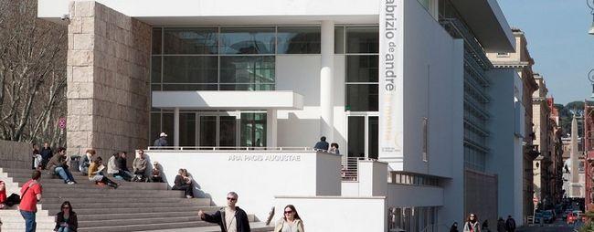 Музей вівтар миру серпня в римі, італія. Museo dell`ara pacis на мапі рима. Фото музею. »Карта мандрівника