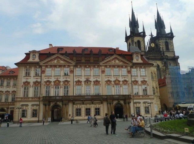 Палац Кінскі (Kinsky Palace)