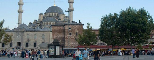 Нова мечеть або мечеть валіде султан в стамбулі, туреччина: адреса, години роботи. На карті стамбула. Фото мечеті. »Карта мандрівника