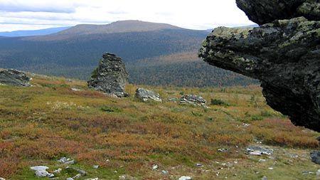 Перевал Дятлова, схил гори холато-Сяхил. Північний Урал. Автор фото: panzerous