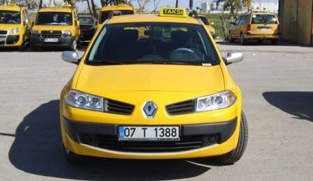 Таксі в Анталії