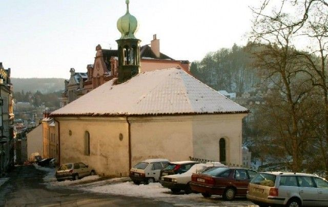 Клабіщенская каплиця св. Андрія (h bitovn kostel sv. Ond eje)