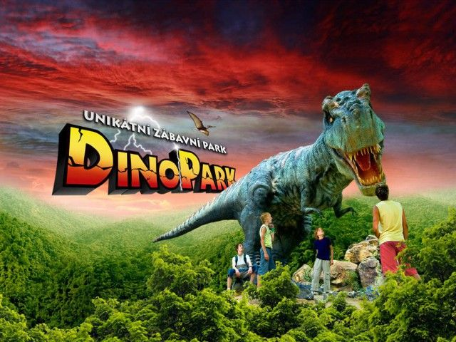 Парк динозаврів в празі