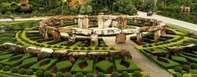 Парки паттайя, тайланд: відгуки, відео, ціни. Парки: міні сиам, парк орхідей, парк каменів, парк атракціонів. »Карта мандрівника