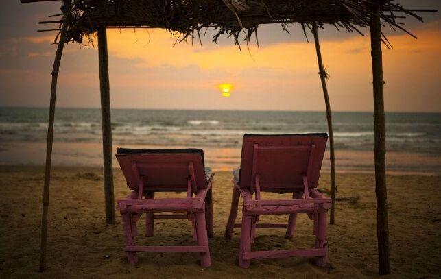 Фото пляжів гоа в індії