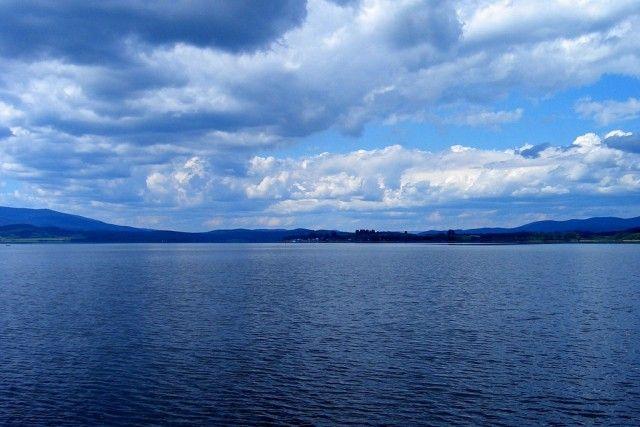 Район озера липно в чехії