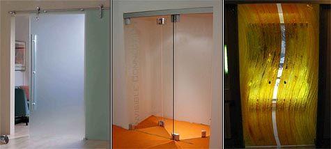 Скляні міжкімнатні двері