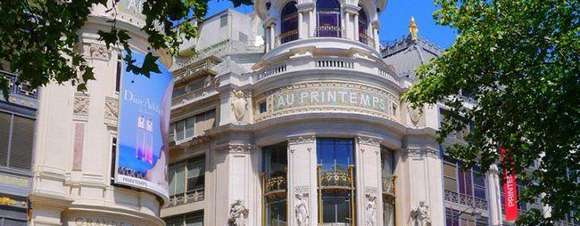 Торговий центр прінтемпс в парижі, франція: адреса, години роботи, офіційний сайт. Універмаг printemps на фото, а також відгуки про нього. »Карта мандрівника