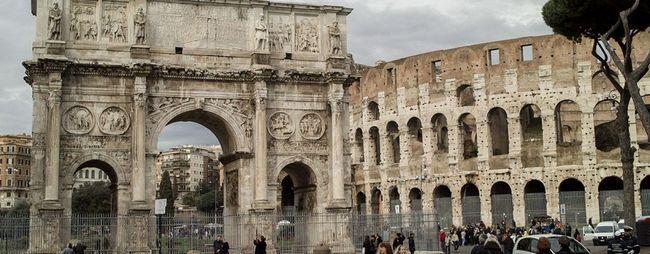 Тріумфальні арки в римі, італія. Історія створення і опис. Адреси арок. Римські арки на фото. »Карта мандрівника