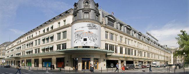 Універмаг ле бон марші в парижі, франція: адреса, час роботи, сайт. Le bon march на фото. »Карта мандрівника