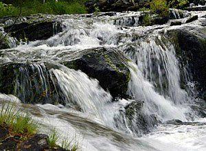 Водоспади карелії