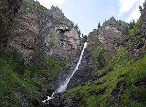 Водоспади на річці шинок
