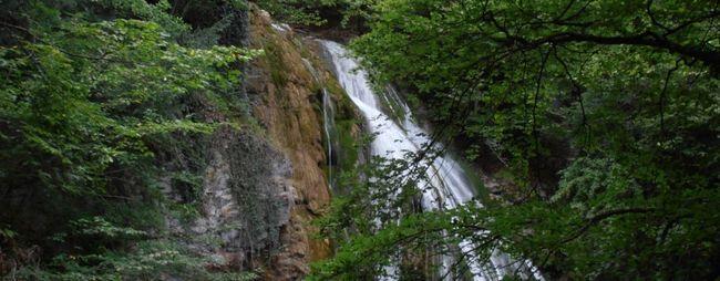 Водоспади в кемері, туреччина »карта мандрівника