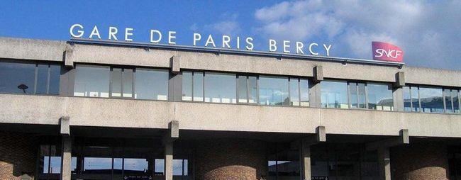 Вокзал берсі в парижі, франція. Gare de bercy на мапі парижа. Фото вокзалу. »Карта мандрівника